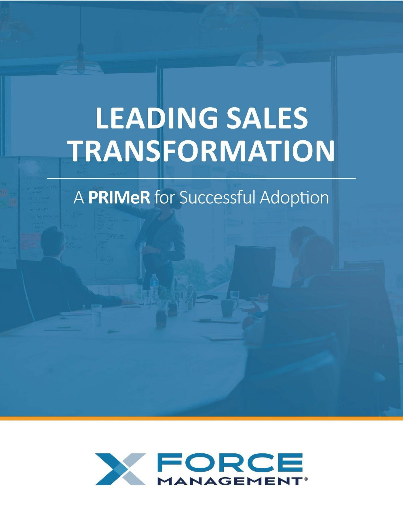 Download our guide to leading sales transformation