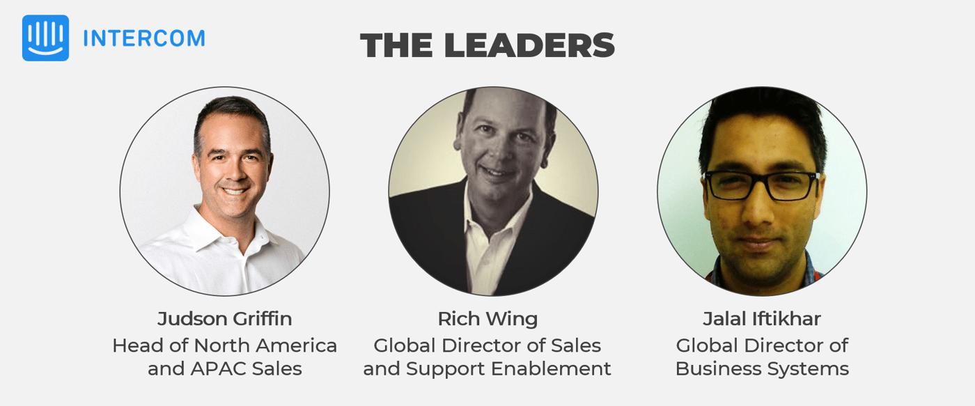 Intercom Leaders