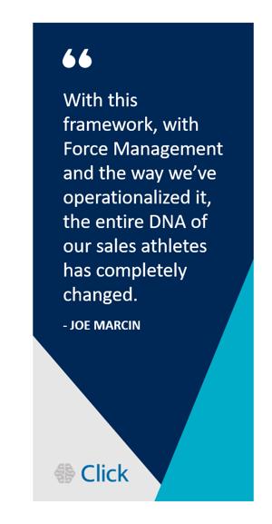 Joe Marcin - Click Case Study Quote 2