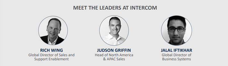 Meet the Leaders - Intercom