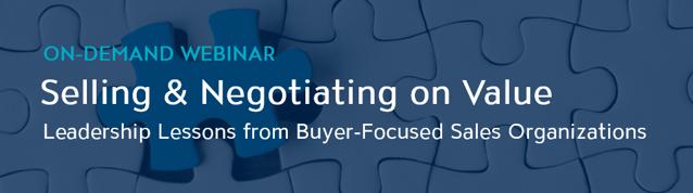 Selling & Negotiating on Value - Webinar - V2 - Banner